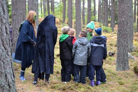Gemenskap i skogen